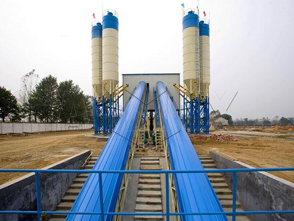 стационарный бетонный завод купить из Китая