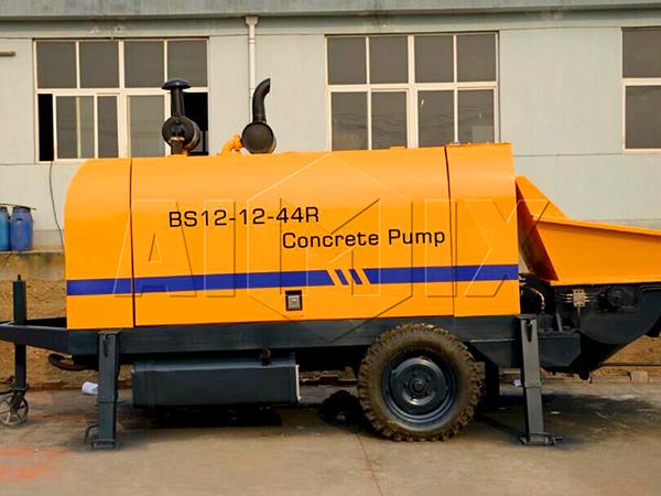 насос для бетона из Китая