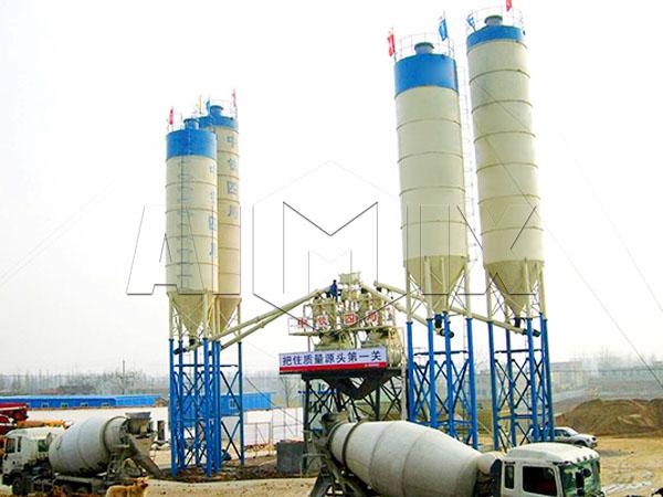 инженерный бетонный завод купить дешево из Китая