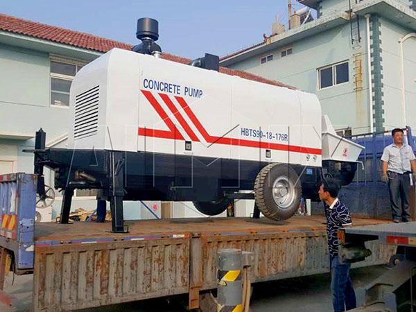 бетонные насосы цены низкие в Китае