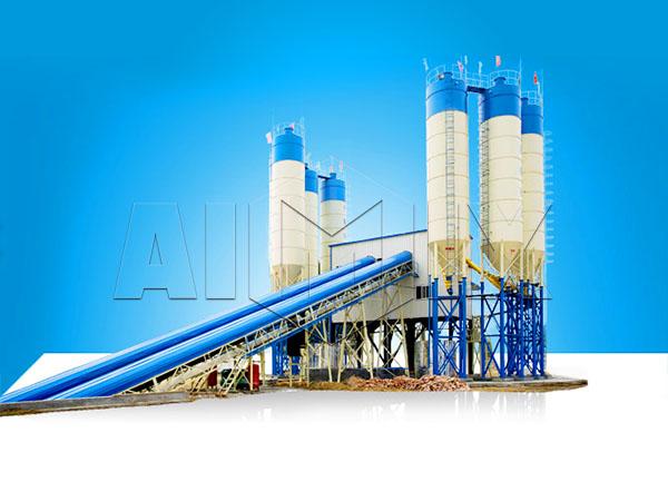 Циклический бетонный завод цена из Китая