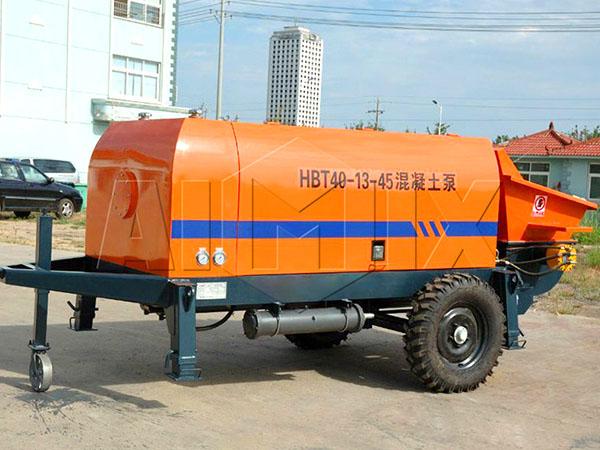 купить бетонный насос недорого из Китая