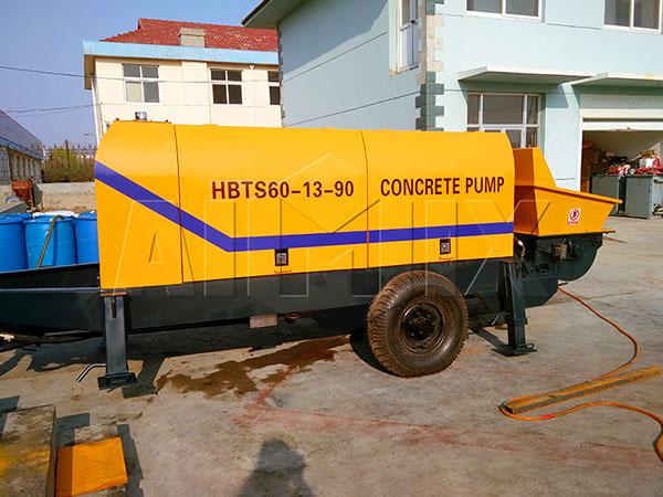 дизельный бетононасос продам