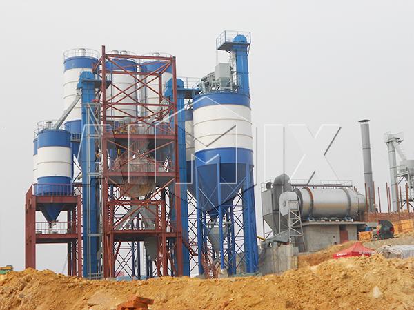 линия по производству сухих строительных смесей купить в Китае
