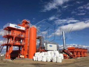 асфальтобетонный завод LB1000 из Китая на Россию