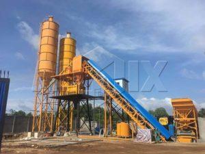 AIMIX бетонный завод 60 м3 в час на Шри Ланке
