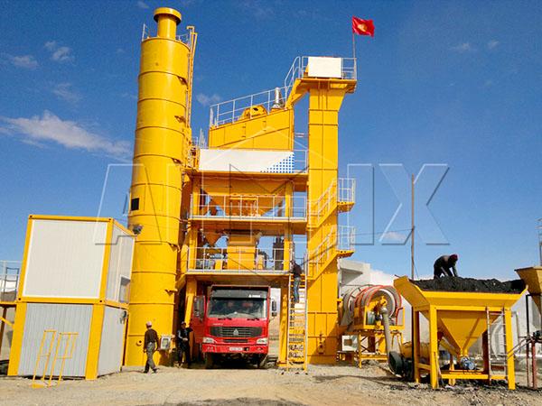 купить асфальтосмесительные установки из Китая