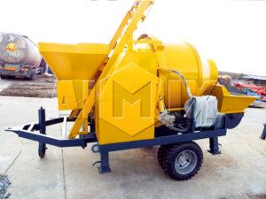 продажа бетононасос с миксером в Китае