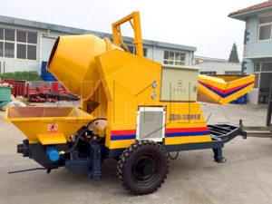 Фиджи - дизельный миксер с бетононасосом экспортирован в Фиджи