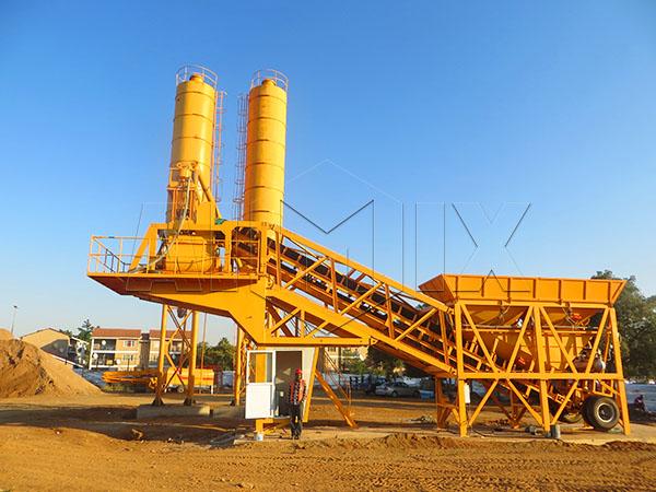 Мини бетоносмесительная установка купить цена