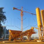 продажа мобильный бетонный завод в Китае