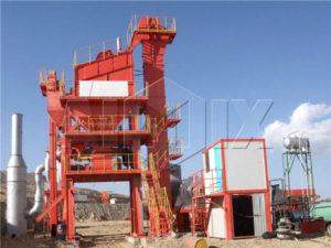 Индонезия - стационарный асфальтный завод LB1200
