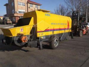 Казахстан - Бетононасос 90 М3/ч отправлен в Казахстан
