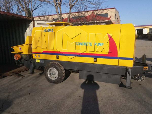 Продажа бетононасосов стационарных в Казахстане и Узбекистане