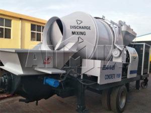 Эквадор - бетоносмесительный насос JBS40 отправлен в Эквадор