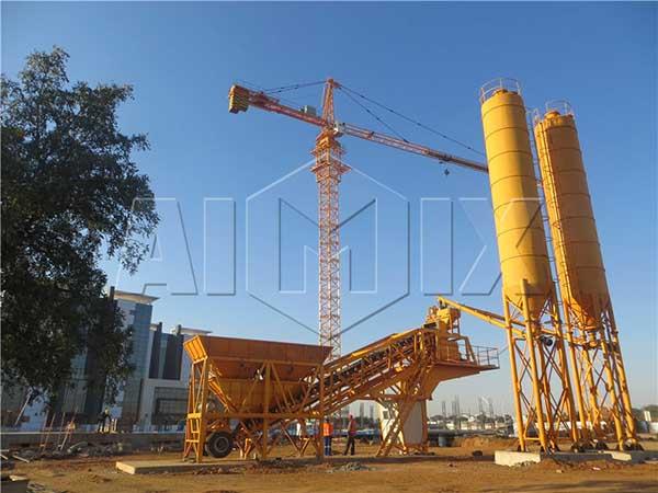 Мобильная бетоносмесительная установка цена купить бетоносмесительный завод