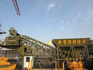 Мобильный бетонный завод в Узбекистан отправлен