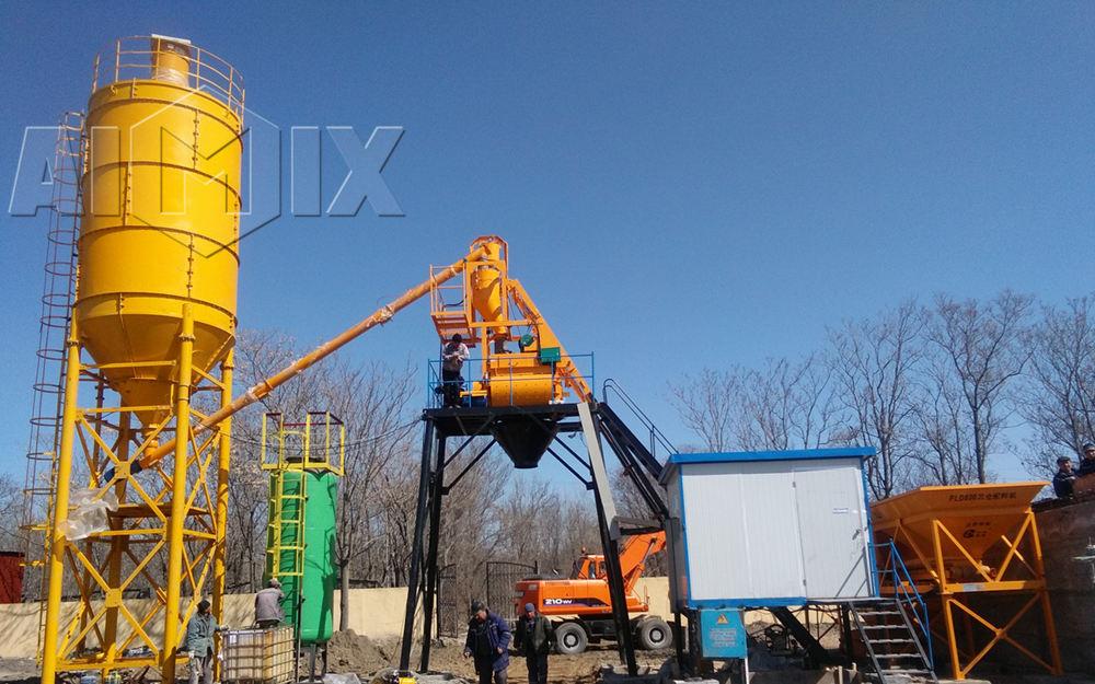 Купить бетонный завод AIMIX в Узбекистане цена