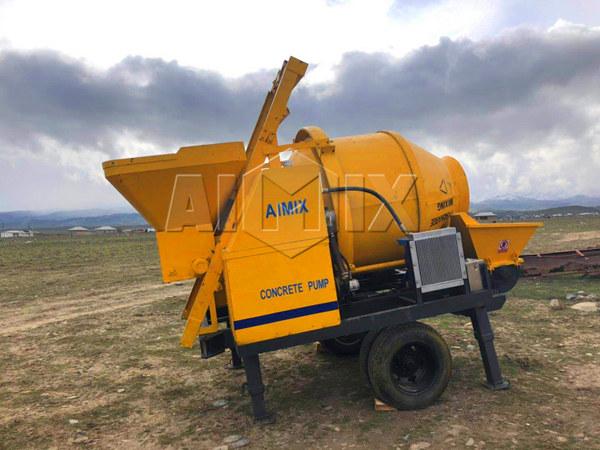 Продажа бетоносмеситель с насосом цена в Узбекистане