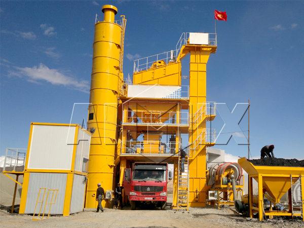 Цена на асфальтобетонный завод купить в Узбекистане