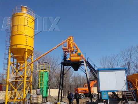 Купить мини бетонный завод в Узбекистане