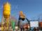 Наш мини бетонный завод в Узбекистане работает