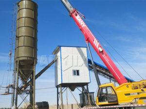 Монтаж бетонного завода в Узбекистане завершили
