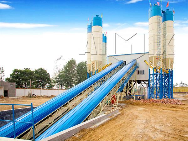 Стационарный бетонный завод купить цена