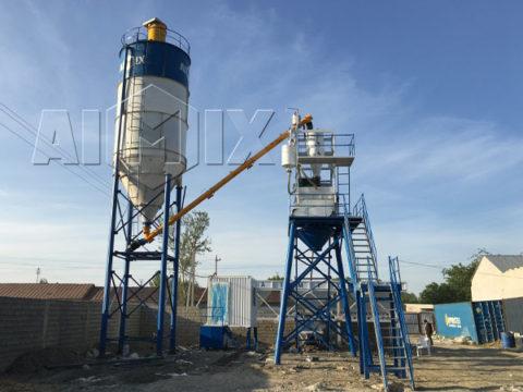 Купить бетоносмесительная установка в Узбекистане цена