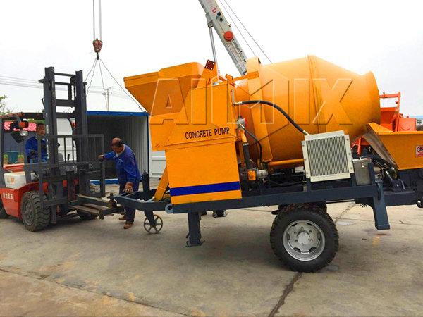 Продажа бетономешалок с насосом в Казахстане