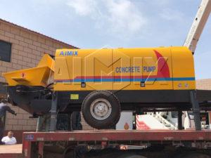 Купить стационарный бетонный насос цена в Китае