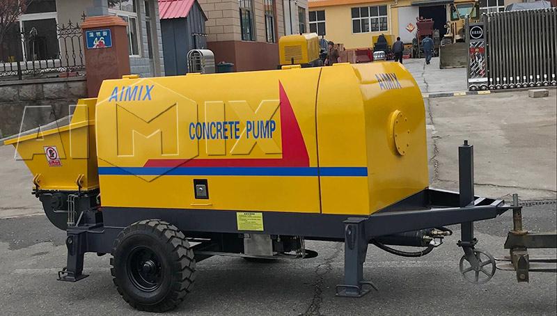 Куить бетонный насос стационарный цена в России и Казахстане