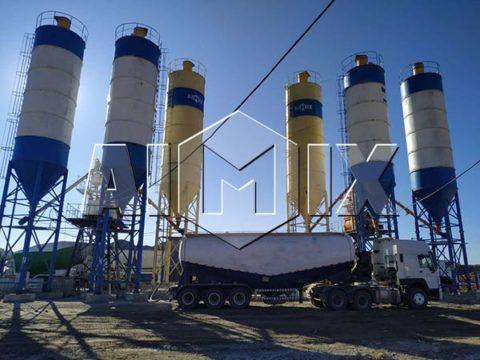 Узбекистан: стационарный бетонный завод