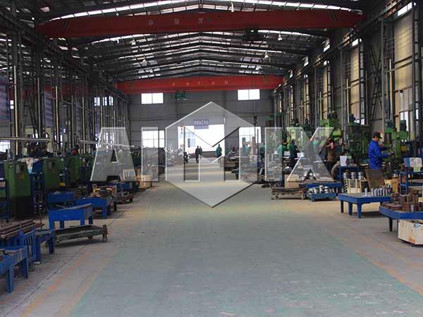Линия по производству кирпича у производителя