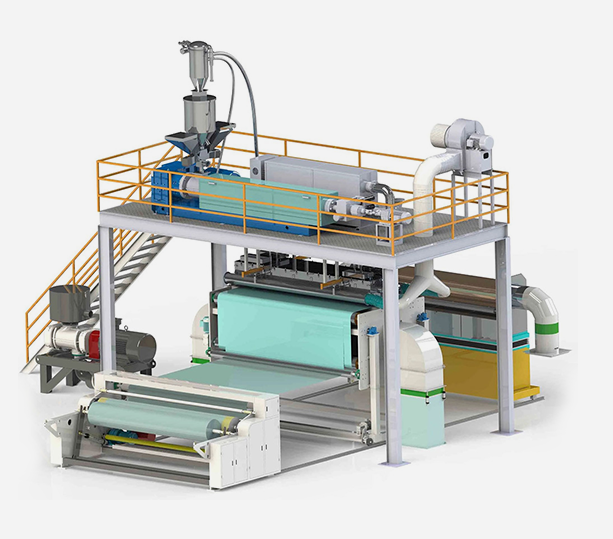 Оборудование для производства нетканых материалов мельтблаун