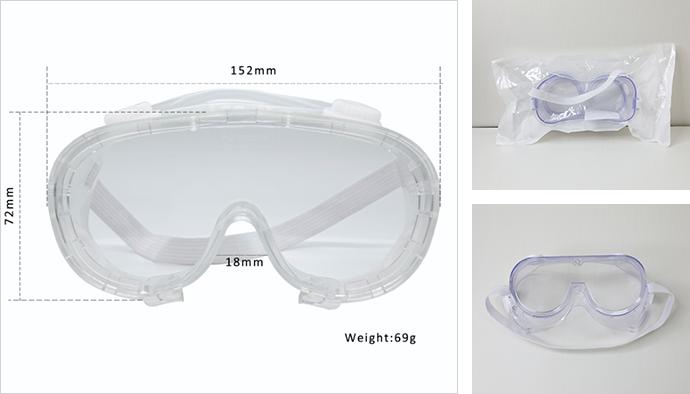 Защитные очки медицинские из Китая