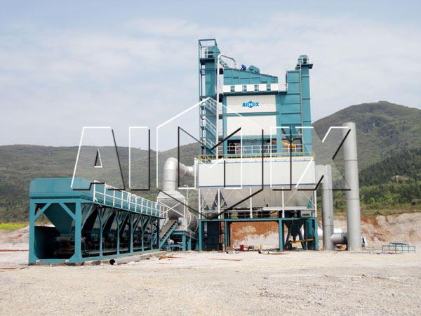 Стационарный асфальтный завод 160 тонн в час