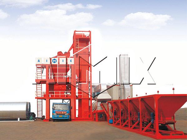 Стационарный асфальтный завод 60 тонн в час