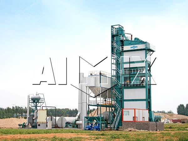 Стационарный асфальтный завод из Китая