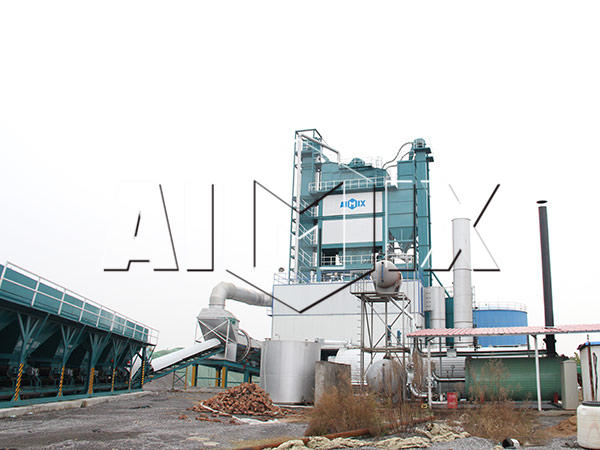 Стационарный асфальтный завод