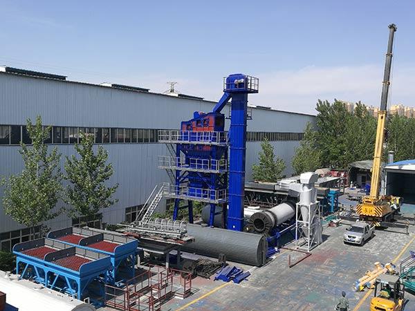 Асфальтобетонный завод у производителя