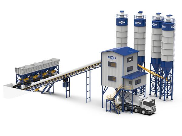 Бетонный завод китай