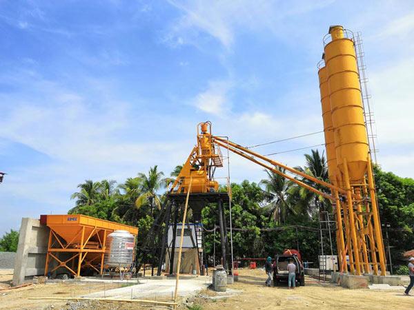 Мини бетонный завод 35 м3/ч