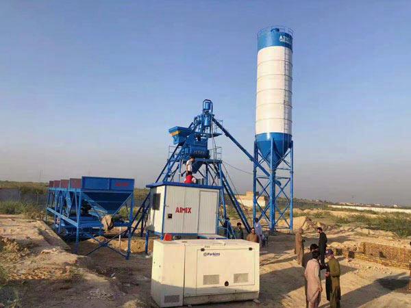 Мини бетонный завод из Китая