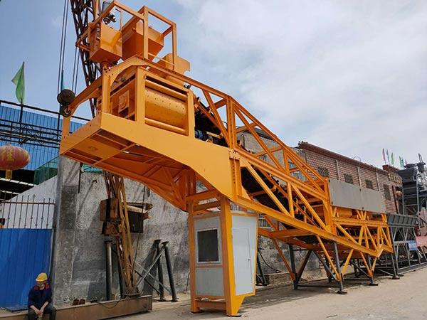 Мобильный бетонный завод у производителя