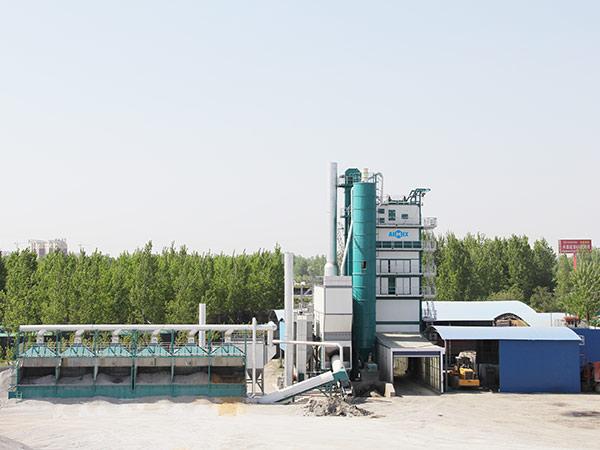 Стационарный асфальтный завод 240 тонн в час