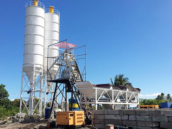 Влажный бетонный завод
