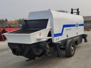 Россия: бетононасос прицепной